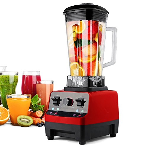 Blender HANMEIUS Multi Speed Electric Commercial Power Blender High Professional Performance Processor Mixer Nutrition Blender for Ice, Smoothies, Vegetable, Fruit (Smoothie Blenders Commercial compare prices)