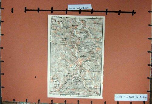 pianificazione-1929-della-germania-della-mappa-kissingen-hausen-brach-windheim