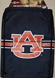 Auburn Tigers NCAA Logo Drawstring Backpack