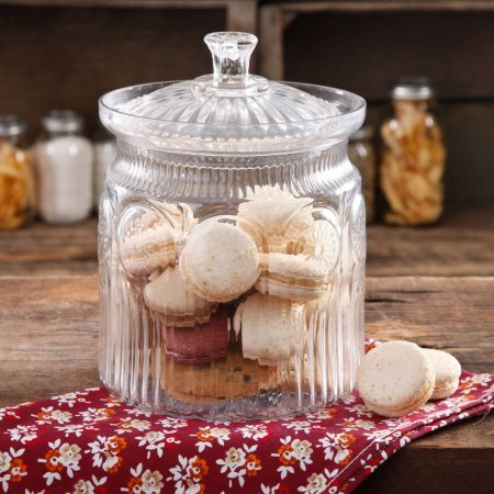 The Pioneer Woman Adeline Glass Cookie Jar - Clear (G250 Foodsaver compare prices)
