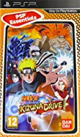 Naruto Shippuden : Kizuna Drive - PSP essentials [import anglais]