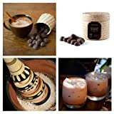 Mexican Hot Chocolate Skull Bolitas in Woven Basket (8.4 ounce)