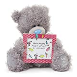 Me to You 6-inch Tatty Teddy Bear Holding a BFF Photo Frame (Grey)