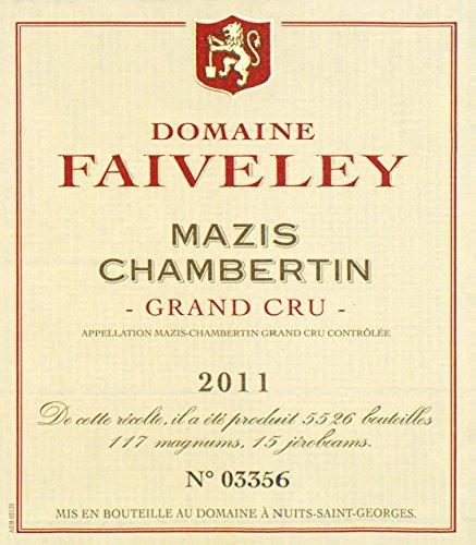 2011 Joseph Faiveley - Mazis Chambertin Grand Cru Burgundy 750 Ml