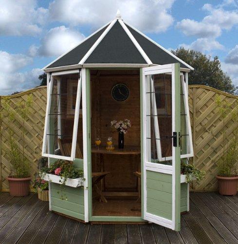 Mercia Octagonal Summerhouse : Size - 8'X6'