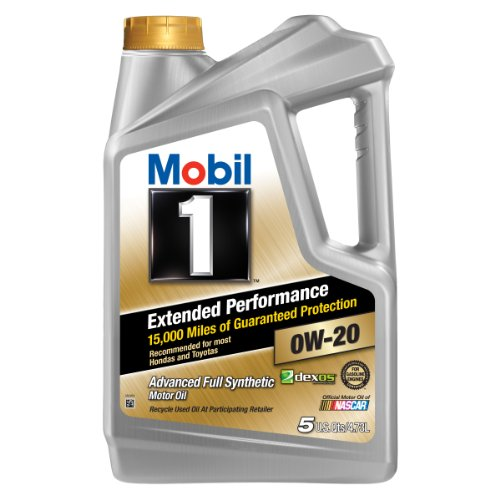 Mobil 1 (120903) Extended Performance 0W-20 Motor Oil - 5 Quart