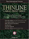 Thinline Large Print Bible, New International Version, English (0310916798) by Zondervan