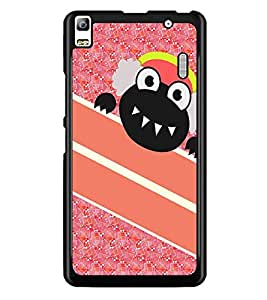 PrintDhaba Cartoon D-3210 Back Case Cover for LENOVO A7000 PLUS (Multi-Coloured)