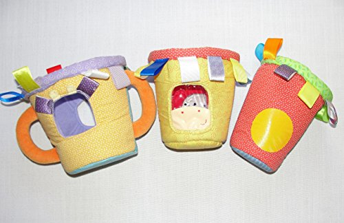 Taggies Stacking Developmental Fabric Baskets - 1