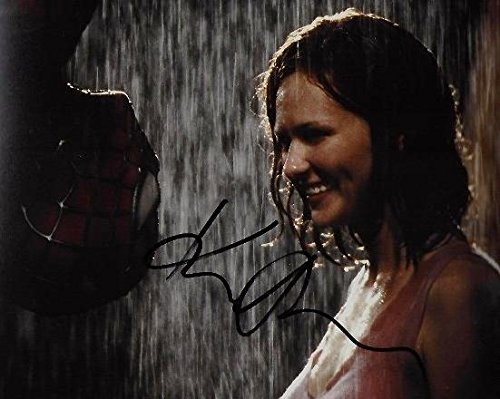 Kirsten Dunst Signed - Autographed Spider-Man Kiss Scene 8X10 Photo -