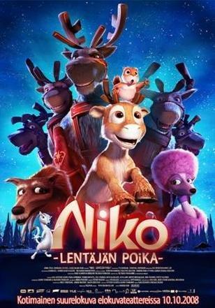 Nico, el reno que quería volar / Niko & The Way to the Stars ( Niko - Lentäjän poika ) ( Niko og de flyvende rensdyr ) [ Origen Finlandés, Ningun Idioma Espanol ]
