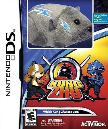 Kung Zhu with Kung Zhu Hamster