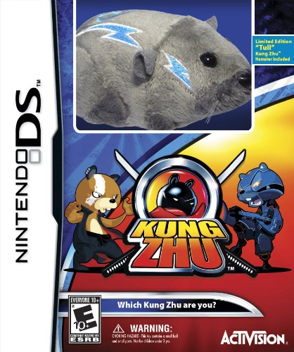 Kung Zhu with Gift - Nintendo DS (Limited Edition with Hamster) - 1