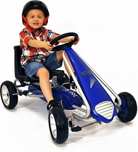 kiddi o by kettler pole position racer pedal car go kart. Black Bedroom Furniture Sets. Home Design Ideas