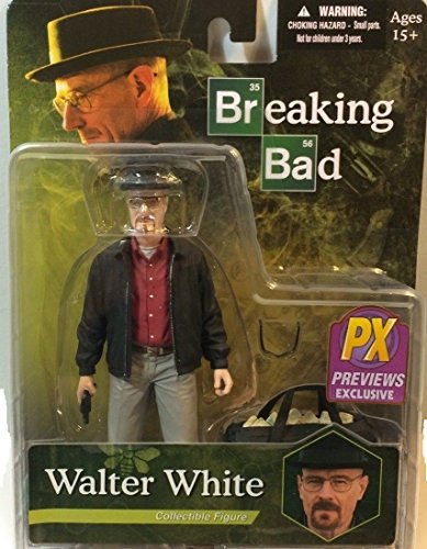 PX Previews Exclusive Breaking Bad Walter White Collectible Figure in Grey Khakis Including Bag of Blue Stuff