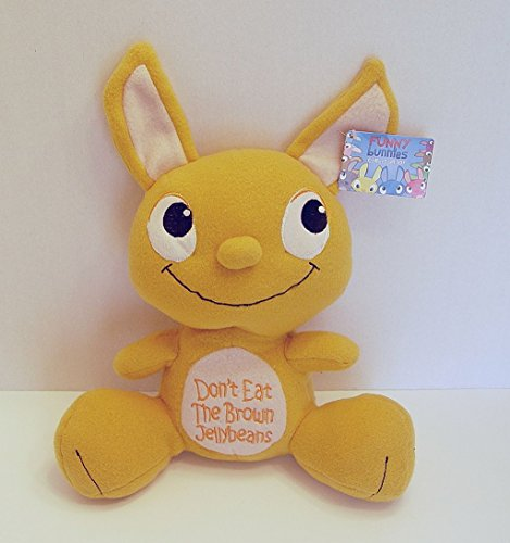 Peek-A-Boo Funny Bunnies Plush Butterscotch Bunny Don't Eat the Brown Jellybeans (Butterscotch Jelly Beans compare prices)