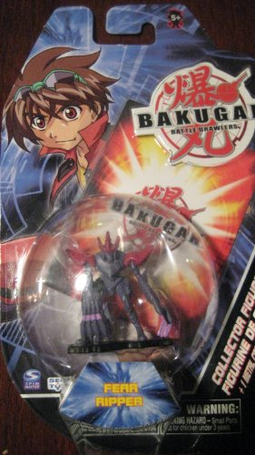Bakugan Battle Brawlers Collector Figure Series 1 Fear Ripper - 1