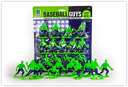 Kaskey Kids Glow in the Dark Baseball Guys Mini Packs