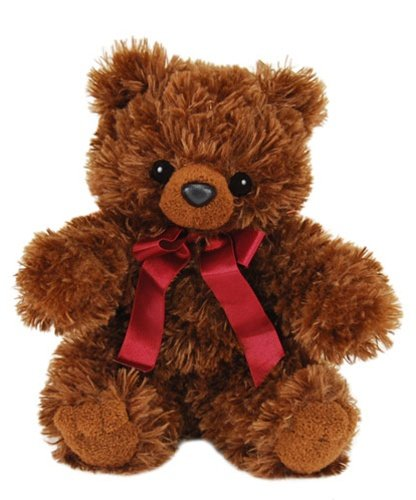 "Purr-Fection Baby Bailey Brown Bear 9"" Plush"