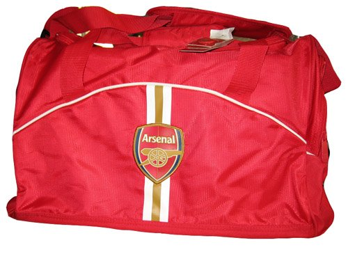 Arsenal Football The Gunners Premier League Futbol Soccer Duffle Bag