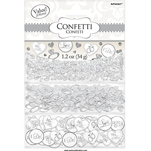 I Do Rings Wedding Confetti - 1.2 Ounce Bag