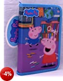 Peppa Pig: 15 Cancelleria pezzo Pencil Case Riempito