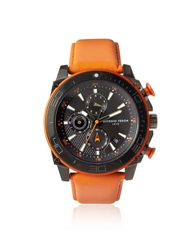 Giorgio Fedon 1919 Men's GIOGFBC001 Speed Timer III Orange/Black Stainless Steel Watch
