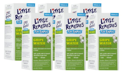 Little Remedies Tummys Gripe Water, 4 Ounce, 6 Pack front-123479