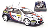 Ford Focus WRC, No.4, Ford/Telefonica, McRae/Grist, Rally Monte Carlo, 2001, Model Car, Ready-made, Vanguards 1:43