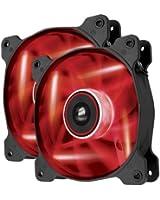 Corsair Ventilateur Grand Débit AF120 Edition Silencieuse 120mm LED Rouge - Pack double (CO-9050016-RLED)