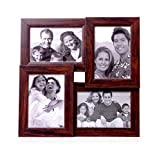 OM Arts Wooden Collage Photo Frame Sweet Long Lasting Memories (23 Cm X 24 Cm X 2.5 Cm, 123760)