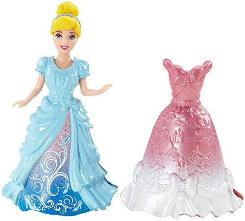 Disney Princess Magiclip Cinderella Doll and Fashion (Mattel Clip Dolls compare prices)