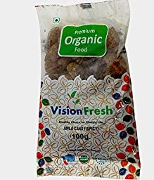 Organic Amla Candy (Sweet & Spicy) 100 Gms - USDA Certified (Vision Fresh)