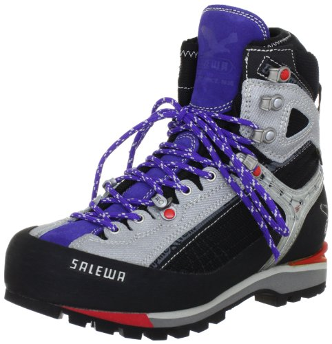 Salewa Women's Raven Combi GTX Hiking Boot,Black/Lilac