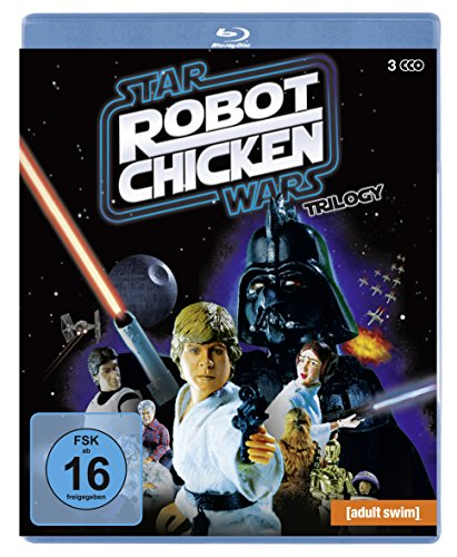 Robot Chicken Star Wars Trilogy (Episodes I and II and III) [3 Blu-rays] [Alemania] [Blu-ray]