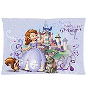 Sofia The First Throw And Pillow Set : Amazon.com - Glow Curve New Fashion Car Cushion Cover Throw Pillow Case Waist Pillow Custom ...