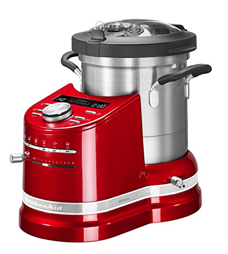 Kitchen Aid Cook Processor Artisan Rosso imperiale