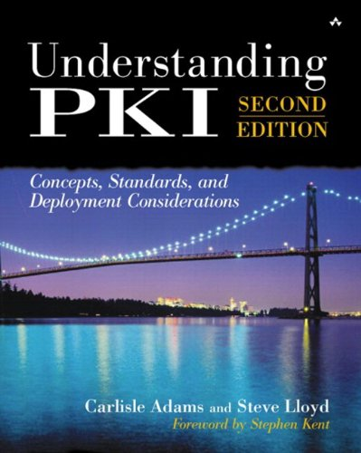 Understanding PKI: Concepts, Standards, and Deployment Considerations (2nd Edition)