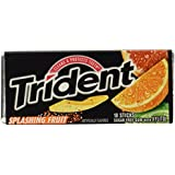 Trident Gum Splashing Fruit Flavor, 18-stick Packs (Pack of 12)