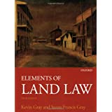 Elements of Land Lawby Kevin Gray