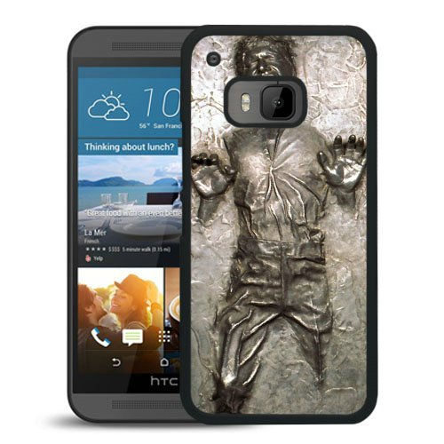 HTC One M9 case,Custom Han Solo Frozen In Carbonite Black HTC One M9 cover