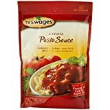 Mrs. Wages Pasta Sauce Tomato Seasoning Mix, 5 Oz. Pouch (Pack of 2)
