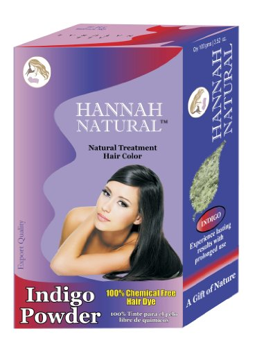 Hannah Natural 100% Pure Indigo Powder for Hair