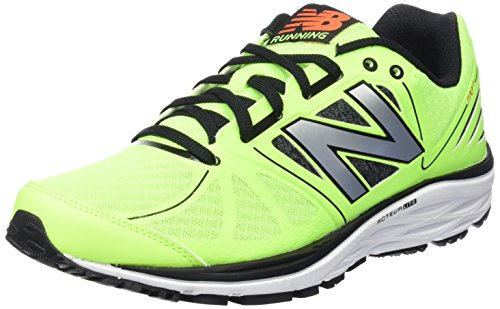 New Balance Uomo, Scarpa Tecnica, M770 Running Light Stability, Verde (Green/Black), 42