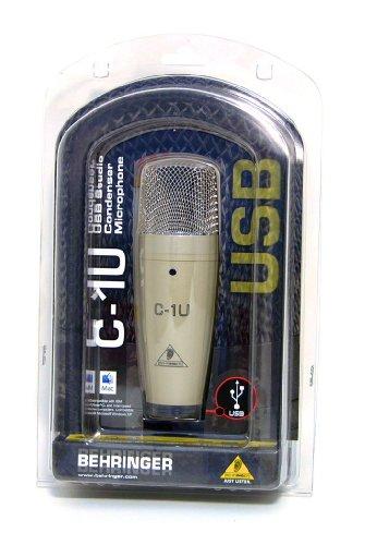 Behringer C-1U Condenser Microphone Cardioid