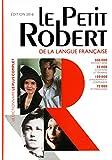 Dictionnaire Le Petit Robert 2016 - Grand format
