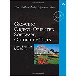 Book cover: Growing Object-Oriented Software, Guided by Tests