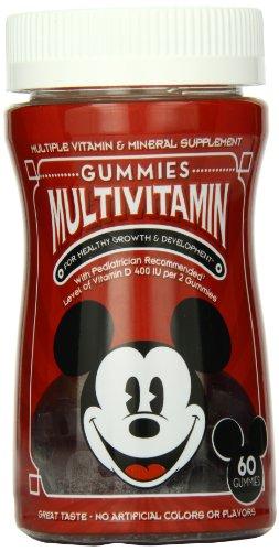 Disney Multi Gummies, Mickey, 60 Count