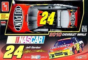 AMT 1/25 Snap It NASCAR 2010 Jeff Gordon #24 DuPont Car Model Kit