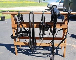 "Amish Draft Horse Nylon Harness with 26"" Hames"